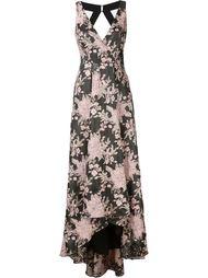 floral jacquard dress Badgley Mischka