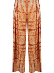 pleated wide leg trousers Fernanda Yamamoto