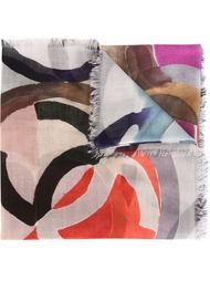 geometric print scarf Chanel Vintage