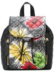 рюкзак с цветочным принтом Boutique Moschino