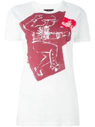 man print T-shirt Vivienne Westwood Anglomania
