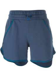 piped trim track shorts Diesel