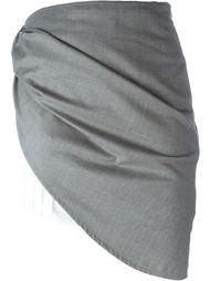 layer asymmetric short skirt Jacquemus