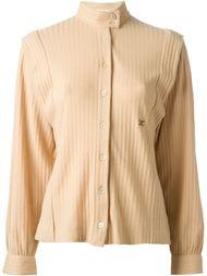 рубашка в рубчик Céline Vintage
