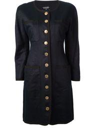 длинная куртка Chanel Vintage