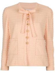 пиджак букле с бантом Chanel Vintage
