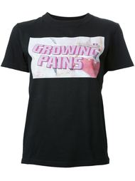 logo print T-shirt Growing Pains