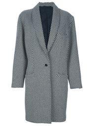 полосатое пальто Versace Vintage
