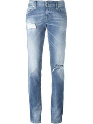 distressed slim jeans Diesel