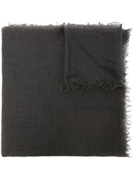 шарф с необработанными краями Rick Owens