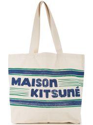 сумка 'Letter Stripes' Maison Kitsuné