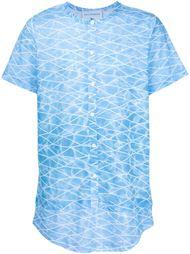рубашка с абстрактным принтом Rochambeau