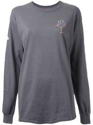 diver sleeve detail sweatshirt Growing Pains