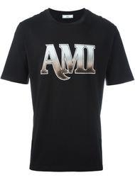 front logo print T-shirt Ami Alexandre Mattiussi