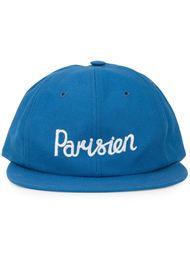 кепка с вышивкой 'Parisien' Maison Kitsuné