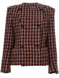 двубортный пиджак в клетку Gianfranco Ferre Vintage