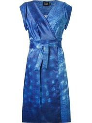 printed wrap dress Fernanda Yamamoto