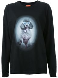 dog print sweatshirt Growing Pains