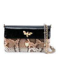 сумка на плечо с эффектом змеиной кожи Dolce & Gabbana