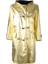 пальто с капюшоном Yves Saint Laurent Vintage