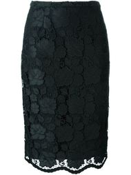 кружевная юбка-карандаш  Nº21