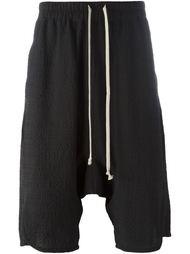 drop crotch shorts Rick Owens