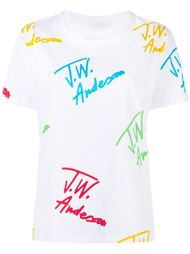 signature print T-shirt J.W. Anderson