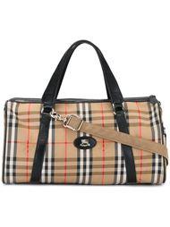 сумка-тоут в клетку Burberry Vintage