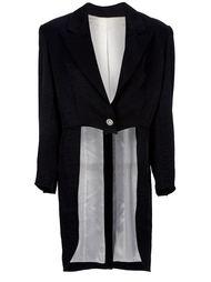 пиджак с длинной спинкой Moschino Vintage