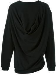 драпированный свитер  Moohong