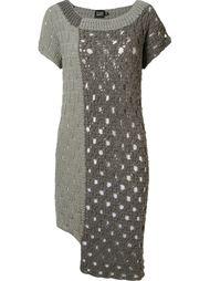 asymmetric knit dress Fernanda Yamamoto