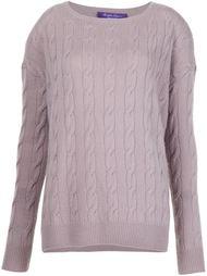 свитер аранской вязки  Ralph Lauren Black