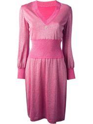 платье с контрастным поясом Emilio Pucci Vintage