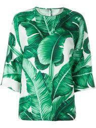 блузка с принтом  Dolce & Gabbana