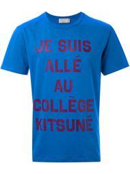 футболка 'Je Suis' Maison Kitsuné