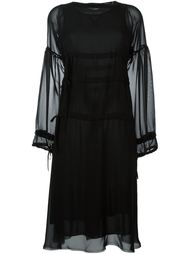 triple drawstring dress Mm6 Maison Margiela