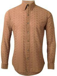 рубашка с вышивкой  Pierre Cardin Vintage