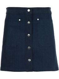 джинсовая юбка  Rag & Bone