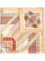 платок с принтом Hermès Vintage