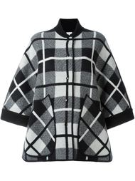 checked oversized coat M Missoni
