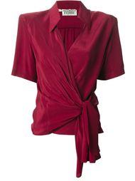 блузка с запахом Gianfranco Ferre Vintage
