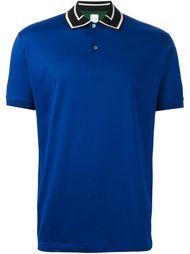 футболка-поло с контрастным воротником   Paul Smith