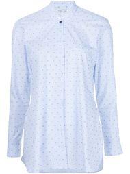 рубашка с воротником-стойкой Helmut Lang