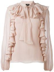 ruffled blouse Giambattista Valli