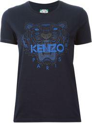 футболка 'Tiger' с принтом Kenzo
