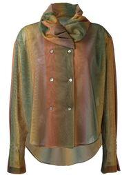 куртка в стиле рубашки Romeo Gigli Vintage