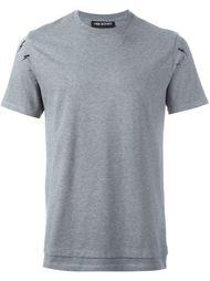 футболка с принтом молний Neil Barrett