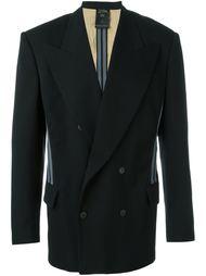 пиджак с контрастными полосками Jean Paul Gaultier Vintage