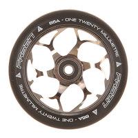 Колесо для самоката Fasen 120 Mm Wheel Chrome/Black