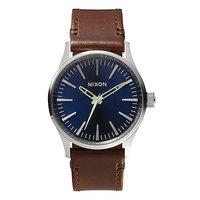 Часы Nixon Sentry 38 Leather Blue/Brown